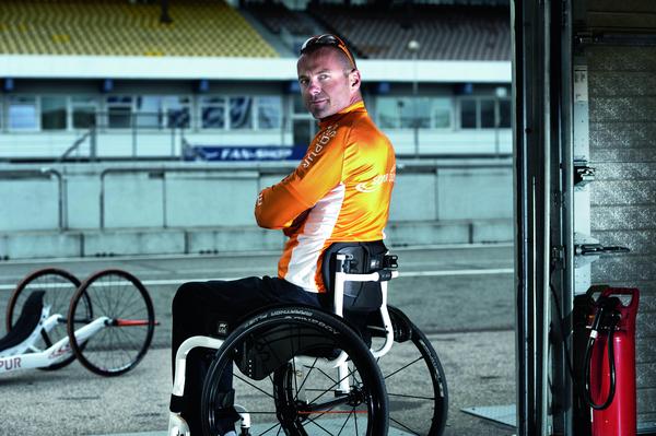 esportista en cadira de rodes ortopèdia a terrassa