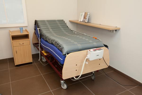 Dormitori de l'ortopèdia a Terrassa