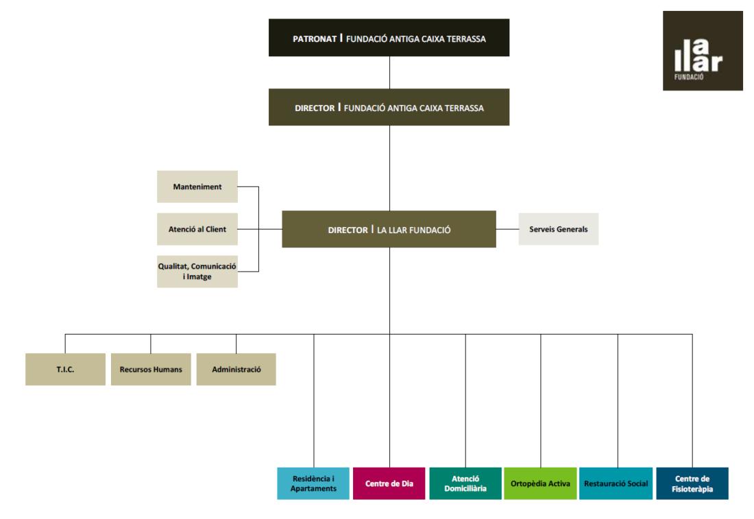orgranigrama lallarfundacio 2020